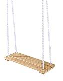 Eichhorn 100004503 – Outdoor, Holz- Brettschaukel, höhenverstellbar 140-210 cm, bis 60 kg - 6