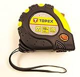 Topex Stahlrollbandmaß 10 m x 32 mm, Magnet, 27C340 - 5