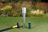 GAH-Alberts 211271 Einschlag-Bodenhülse für Vierkantholzpfosten, feuerverzinkt, 71 x 71 mm / 750 mm - 2