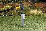 GAH-Alberts 211271 Einschlag-Bodenhülse für Vierkantholzpfosten, feuerverzinkt, 71 x 71 mm / 750 mm - 3