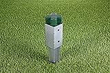 GAH-Alberts 211271 Einschlag-Bodenhülse für Vierkantholzpfosten, feuerverzinkt, 71 x 71 mm / 750 mm - 4