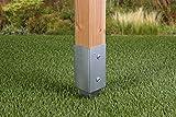 GAH-Alberts 211271 Einschlag-Bodenhülse für Vierkantholzpfosten, feuerverzinkt, 71 x 71 mm / 750 mm - 7