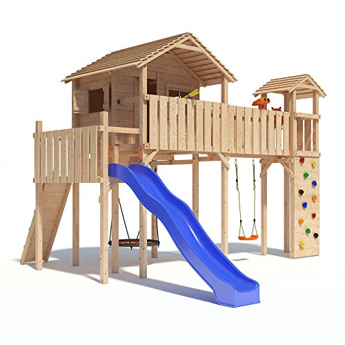 PONTICULUS Spielturm XXL - Großes Stelzenhaus