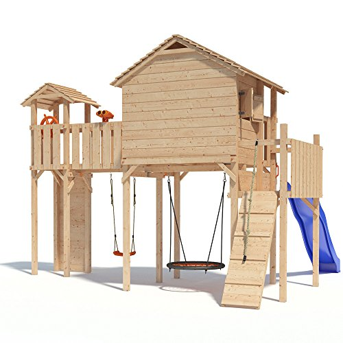PONTICULUS Spielturm XXL – Großes Stelzenhaus - 4