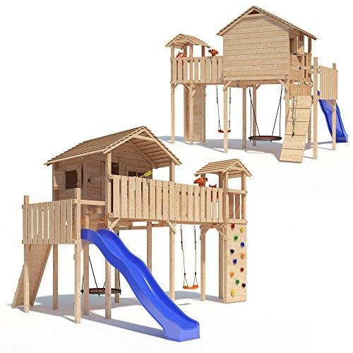 PONTICULUS Spielturm XXL – Großes Stelzenhaus - 5
