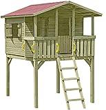 Gartenpirat Stelzenhaus Spielhaus Tom