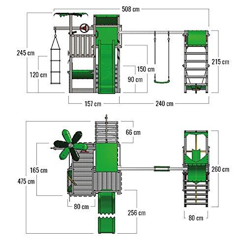 Fatmoose Spielturm BananaBeach Stelzenhaus - 6