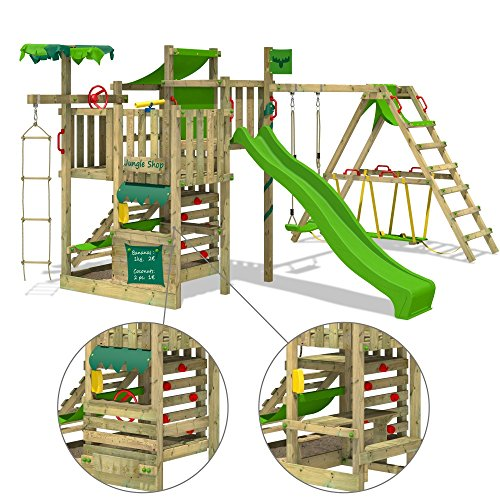 Fatmoose Spielturm BananaBeach Stelzenhaus - 2