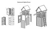 Wandelemente für Gartenpirat Premium Spielturm S, M, L und XL - 2