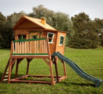 Axi Max Kinder Spielhaus mit Rutsche front