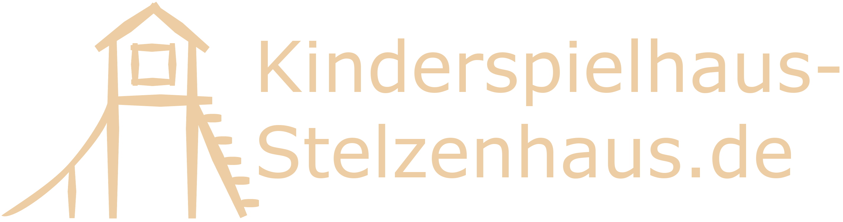 Kinderspielhaus Stelzenhaus Header