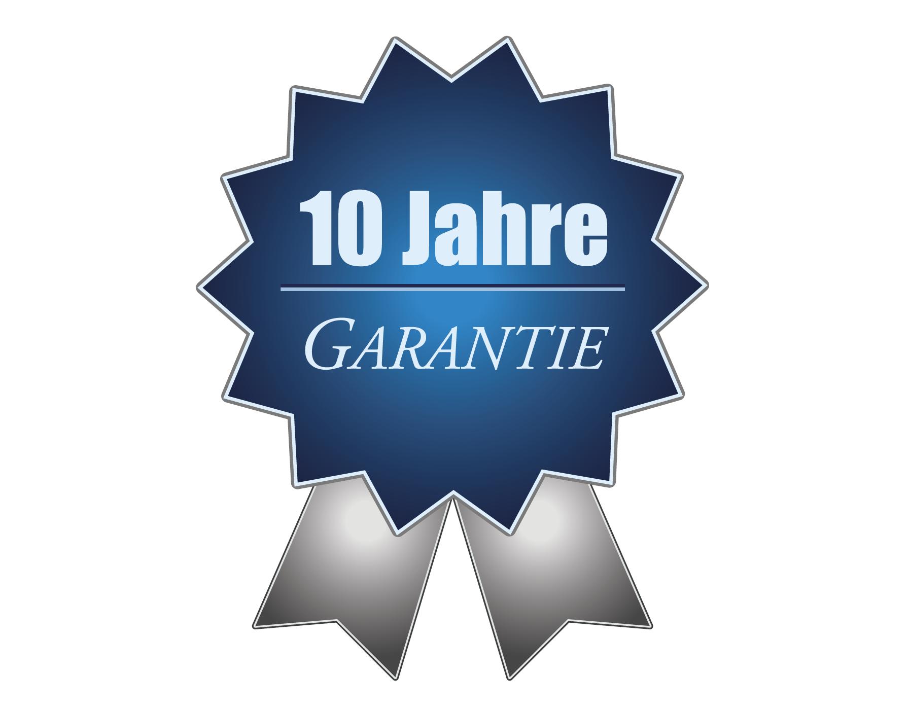 Stelzenhaus Garantie 10 Jahre