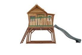 Axi Kinder Spielhaus Max mit Terrasse und Anbau - Stelzenhaus hoch - 1