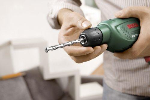 Bosch DIY Schlagbohrmaschine PSB 750 RCE, Tiefenanschlag, Zusatzhandgriff, Koffer (750 Watt, max. Bohr-Ø: Holz: 30 mm, Beton: 14 mm) - 2