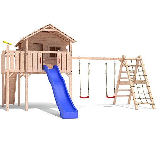 Colino Spielturm Stelzenhaus Holz - 1