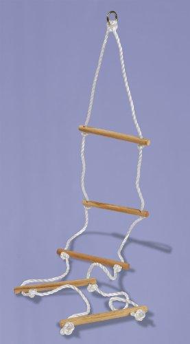 Eichhorn 100004504 - Outdoor Strickleiter aus Holz - TÜV/GS geprüft - Länge: 170cm - 5