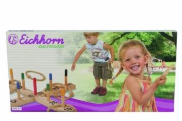 Eichhorn 100004504 - Outdoor Strickleiter aus Holz - TÜV/GS geprüft - Länge: 170cm - 7