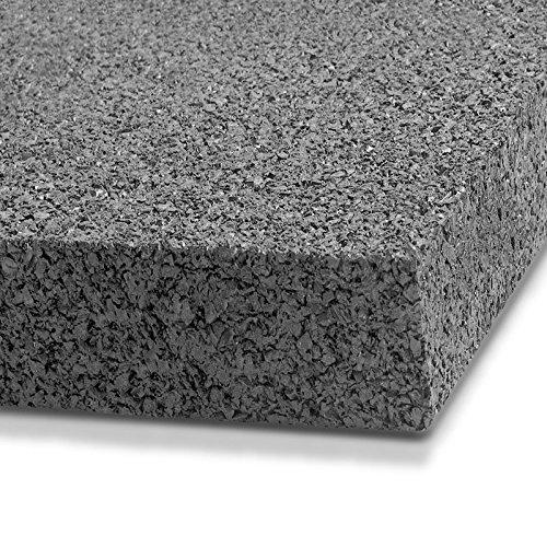 Fallschutzmatten Play Protect Plus | extragroß | grau | made in Germany | einzeln oder im 2er Set (2 Stück: 100 x 100 cm) - 4