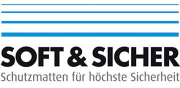 Fallschutzmatten Play Protect Plus   extragroß   grau   made in Germany   einzeln oder im 2er Set (2 Stück: 100 x 100 cm) - 6