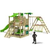 FATMOOSE BananaBeach Big XXL Spielturm Kletterturm mit Surfanbau Schaukel und Rutsche - 1