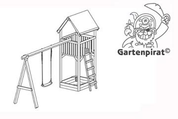 Gartenpirat Kinderspielhaus günstig