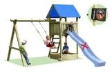 Gartenpirat Premium Spielturm S mit Schaukel und Sandkasten - 1