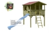 Gartenpirat Stelzenhaus Spielhaus Tom aus Holz mit Veranda - 1