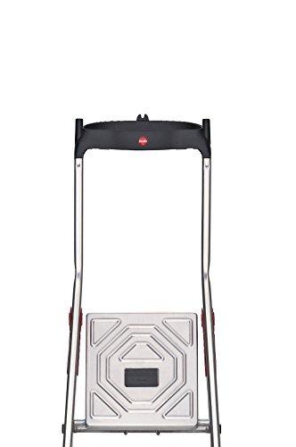 Hailo L60 Alu-Haushaltsleiter mit EasyClix und Schale (verschiedene Größen) - 5