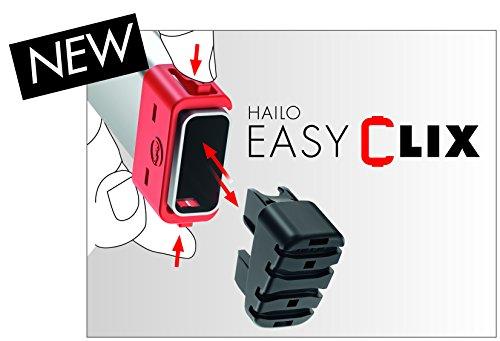 Hailo L60 Alu-Haushaltsleiter mit EasyClix und Schale (verschiedene Größen) - 6