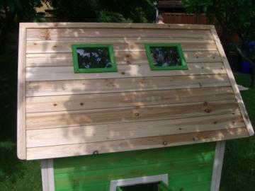 Kinderspielhaus Stelzenhaus aus Holz mit Rutsche - 7