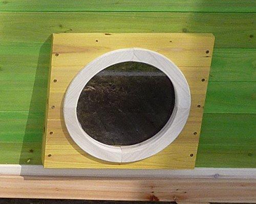 Kinderspielhaus Stelzenhaus aus Holz mit Rutsche - 9