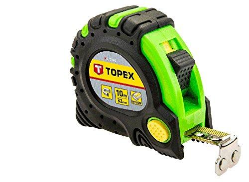 Topex Stahlrollbandmaß 10 m x 32 mm, Magnet, 27C340 - 1