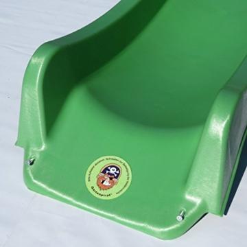 Wellenrutsche Rutsche 300 cm apfelgrün Tüv-geprüft von Gartenpirat® - 2