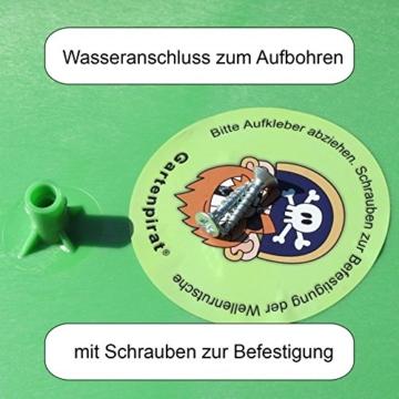 Wellenrutsche Rutsche 300 cm apfelgrün Tüv-geprüft von Gartenpirat® - 3