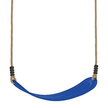 WICKEY elastischer Schaukelsitz Blau - 1