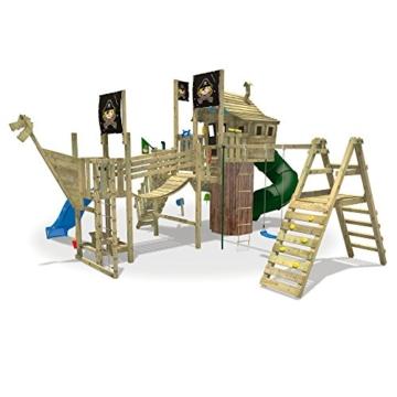 WICKEY NeverLand Gold Edition Delux - Spielturm mit Turborutsche - 2