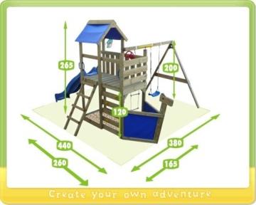 wickey seaflyer spielhaus kinderspielhaus wickey spielturm. Black Bedroom Furniture Sets. Home Design Ideas