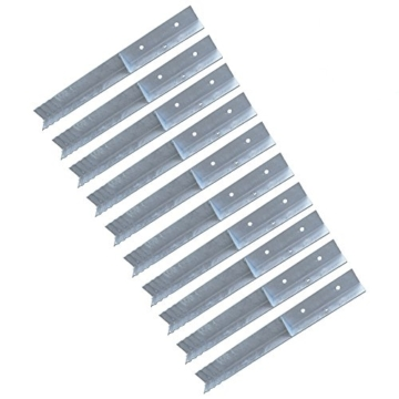 WICKEY Winkelanker für Spielturm und Schaukel SET 10 Stück - 1